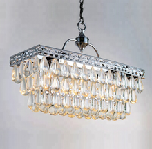north american country oblong chandelier lightings for dining room ETL84126
