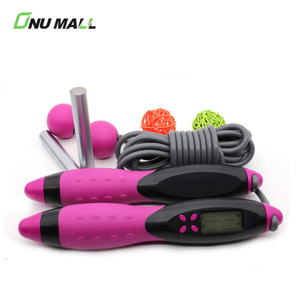Electronic Calorie Counter Digital Adjustable Smart Skipping Jump Rope