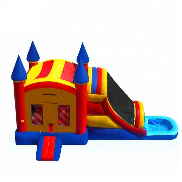 Commercial grade bounce round inflatable water slide,commercial inflatable bounce house,inflatable bounce and slide