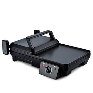 2000W 2-in-1 Electric Panini Plancha Grill for Home Use