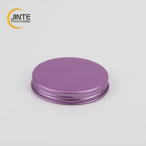Custom Size 89mm 100mm 110mm 118mm Metal Lids Aluminum Screw Caps for Glass jar