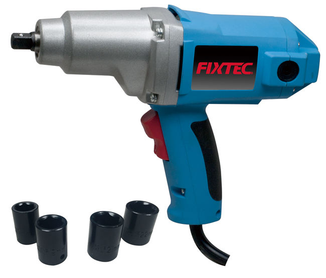 FIXTEC 1100W Electric Wrench Adjustable Torque Mini 1/2 Inch Electric Impact Wrench for Sale