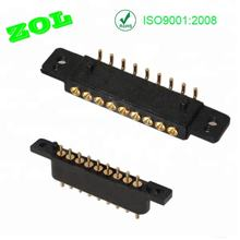 9 pin pogo pin male gender and female gender connector 3 micro
