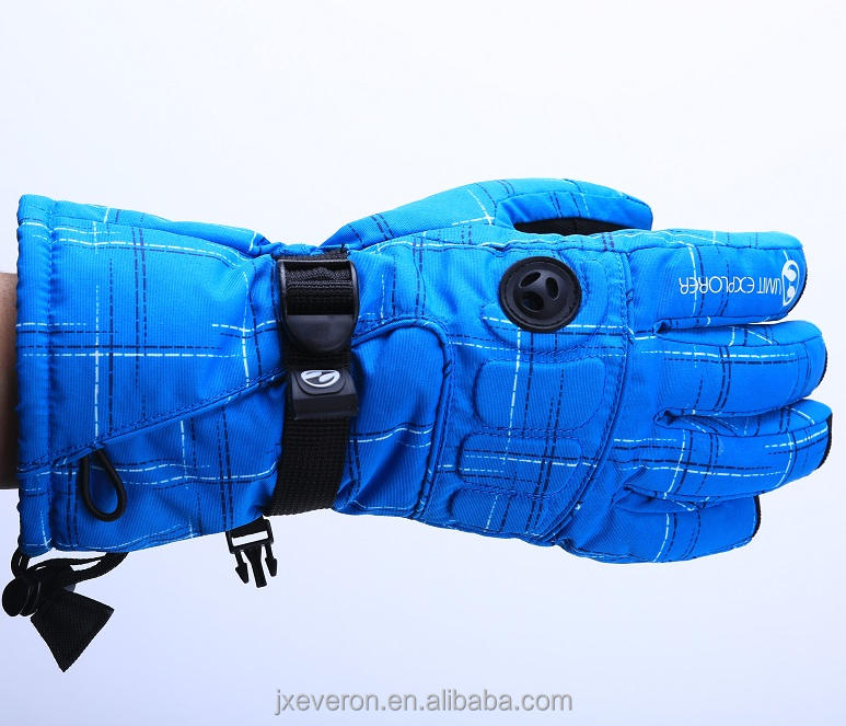 Polyester Pu Winter Mens Gloves Mens/Womens Waterproof Winter Warm Outdoor Wolesale Fashion Ski Gloves