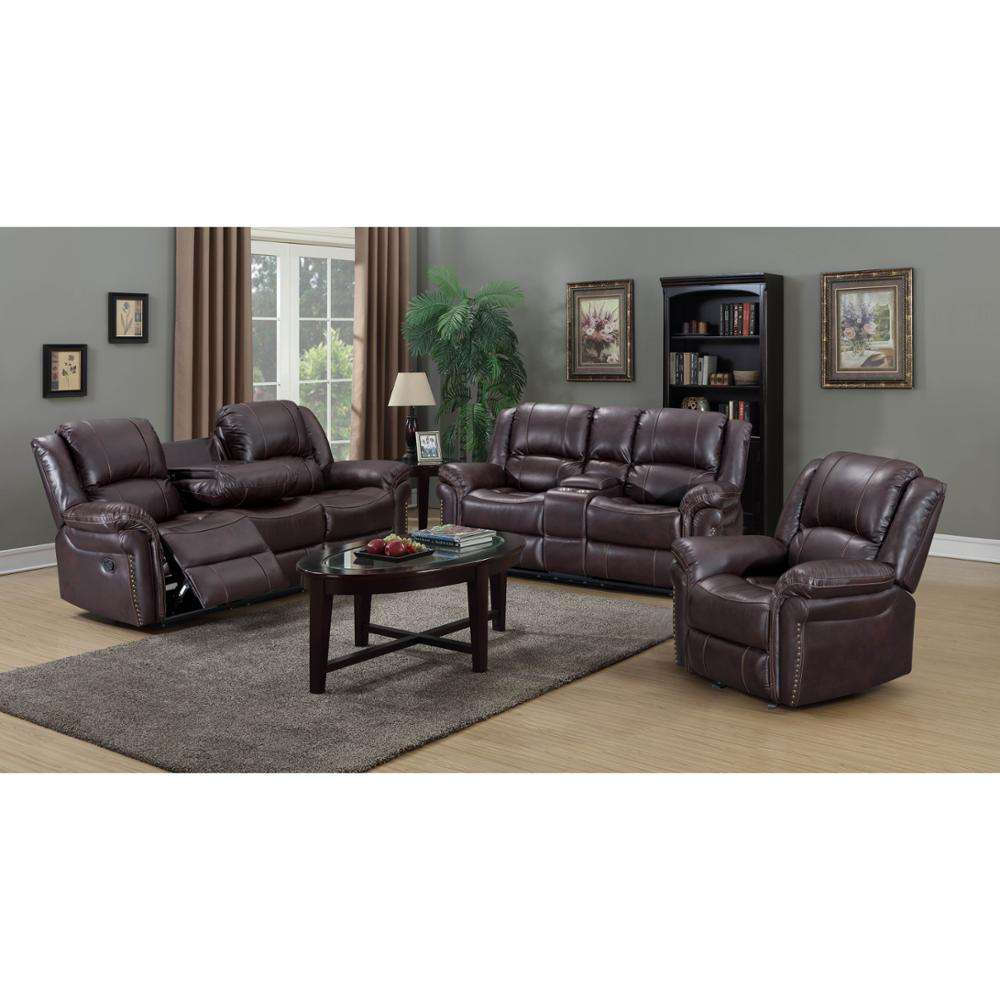 Frank Furniture Wholesale Furnitures House Living Room Couch Leather Recliner Sofa