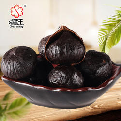 Fermented Single Solo Peeled  Black Garlic of China Professional Export manufacturer for free sample OEM