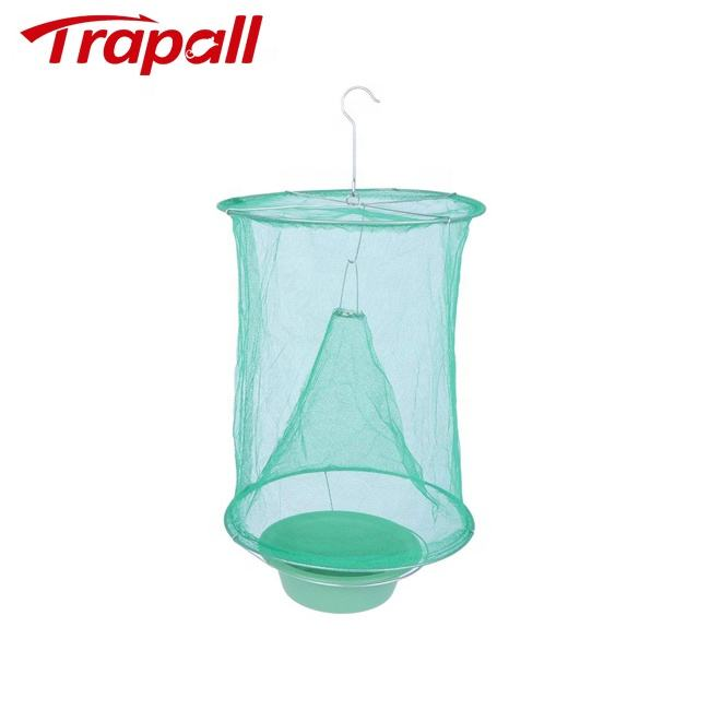 Outdoor Folding Hang Fly Mosquito Insects Mesh Net Catching Trap Cage Bag