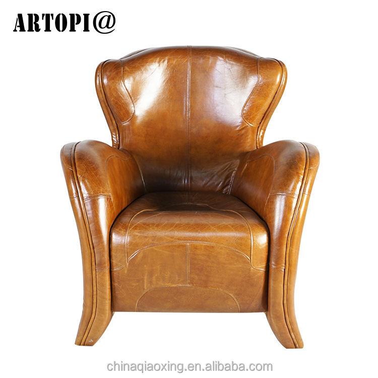 Haute <span class=keywords><strong>qualité</strong></span> unique siège canapé canapé rembourré chaise/de luxe rétro fauteuil