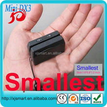 0.76mm thickness smart card reader with usb interface