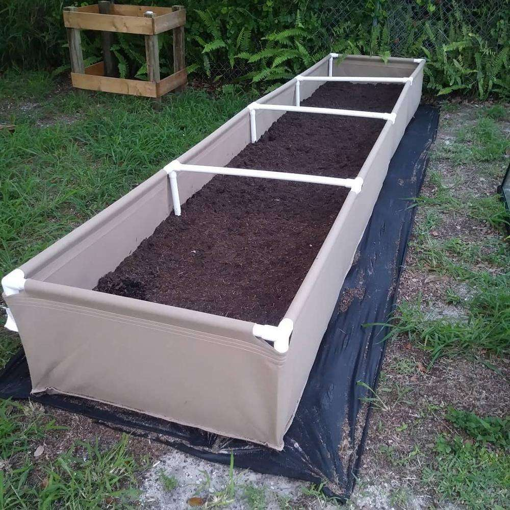 Customized Aeration Fabric Raised Bed Greenhouse