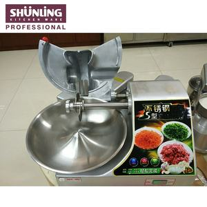 Compact structure and beautiful appearance sale bowl cutter for meat