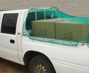 PP PE Trailer cargo net for truck