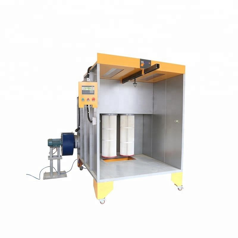 Industrial Mobile Dry Filter Powder Coating Spray Paint Booth