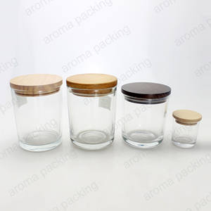 Wholesale customized wood lid for candle jar and cosmetic jar