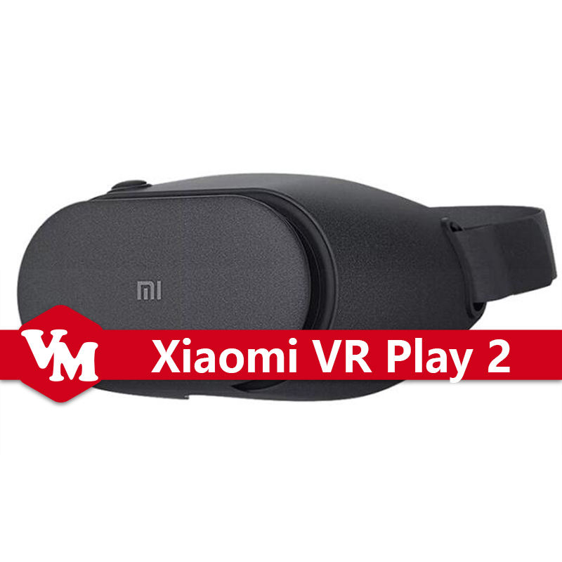 Original Xiaomi VR Play 2 VR 2 Virtual Reality 3D Glasses Xiaomi VR Glasses 2 For 4.7-5.7 Inches Android IOS Smart Cellphones