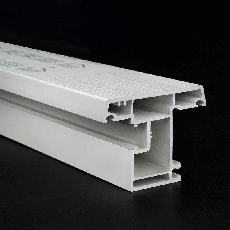 Chinese factory manufacturer raw materials white upvc windows&doors profiles