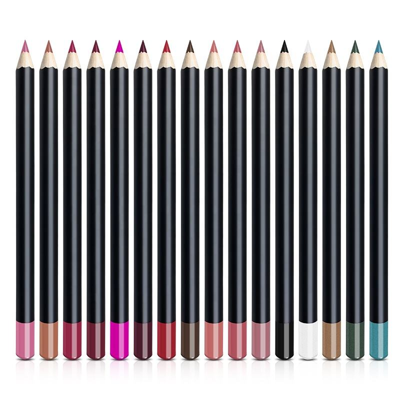 high pigment private label lip liner your own brand longlasting lip liner pencil