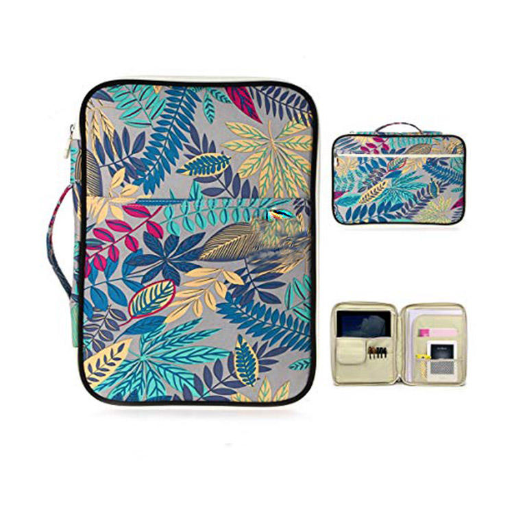 Multifunctionele Document Zakken Portfolio Organizer Brief Size Bestandsmap Houder Waterdichte Travel Pouch Ritssluiting Case