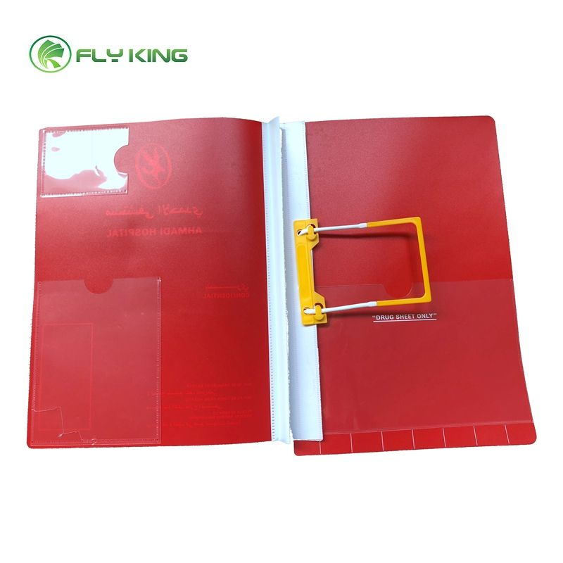 plastic clip for medical paper u clip with adhesive