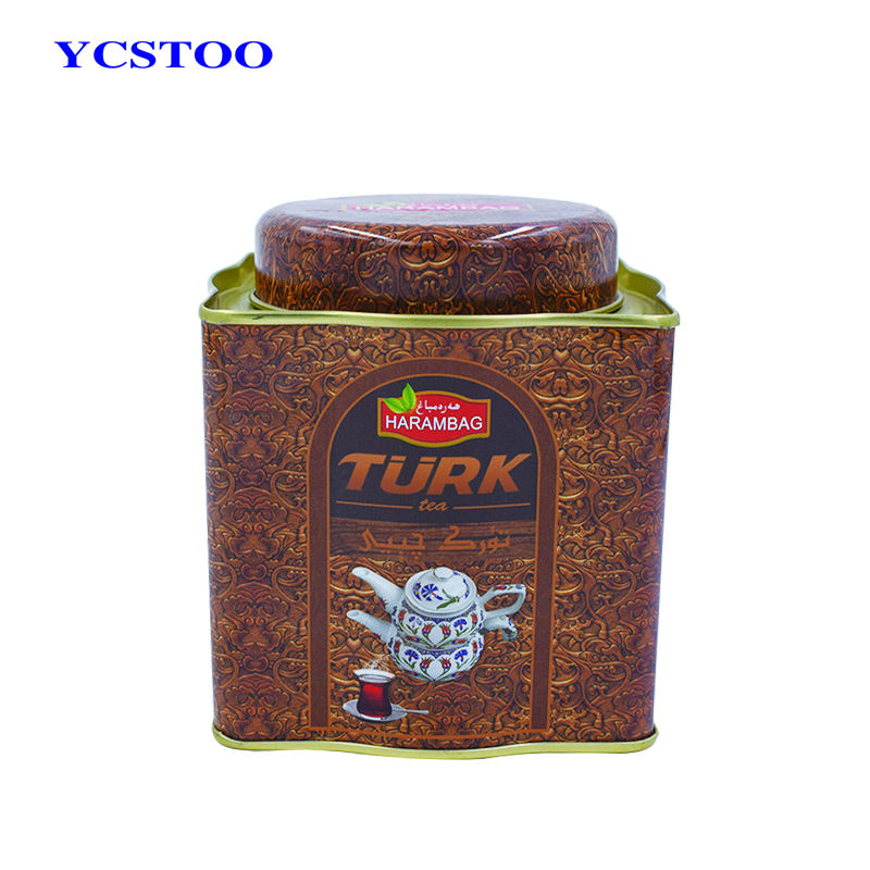 Factory Square Coffee Packing Tin Cans Food Grade Sugar Tin Box