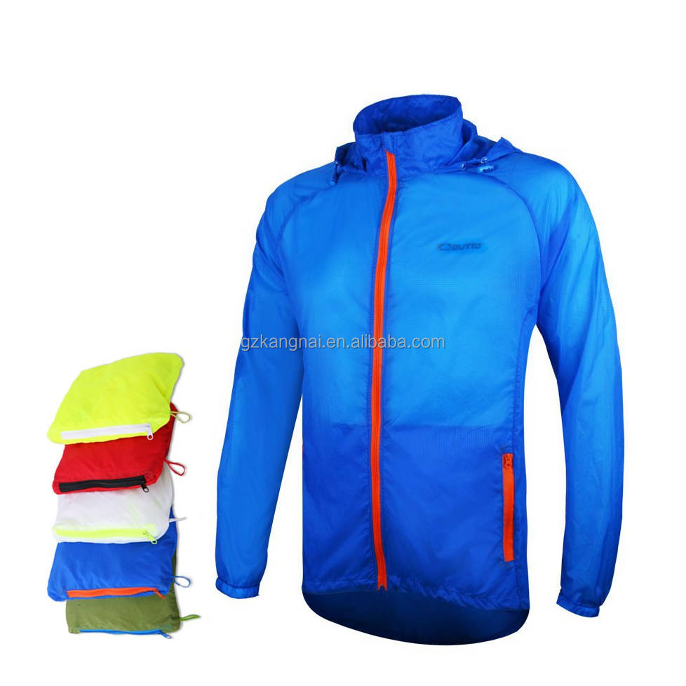 Windbreaker Road ,Men Cycling Jacket Wholesale Customization is Welcomed Reflective Logo Riding Coat Sun UV Protect