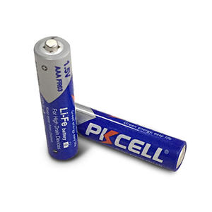 PKCELL AAA batteries FR10445 battery 1.5V 1200mAh FR03 lithium Primary Batteries for radio