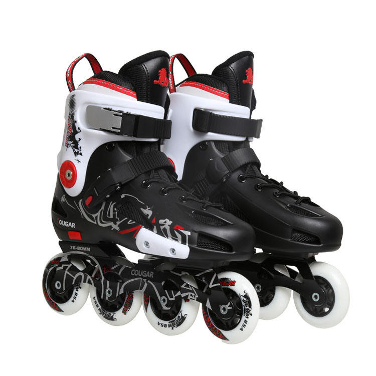 Best Price Professional Four Wheel Patines Electric Roller Skate Shoes Inline Speed Skate