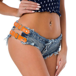 Großhandel super shorts frauen denim jeans sexy club kurze jeans hot pants