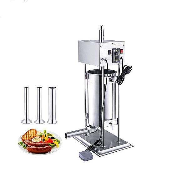 china sausage presssausage casing cleaning machine sausage stuffer 3l