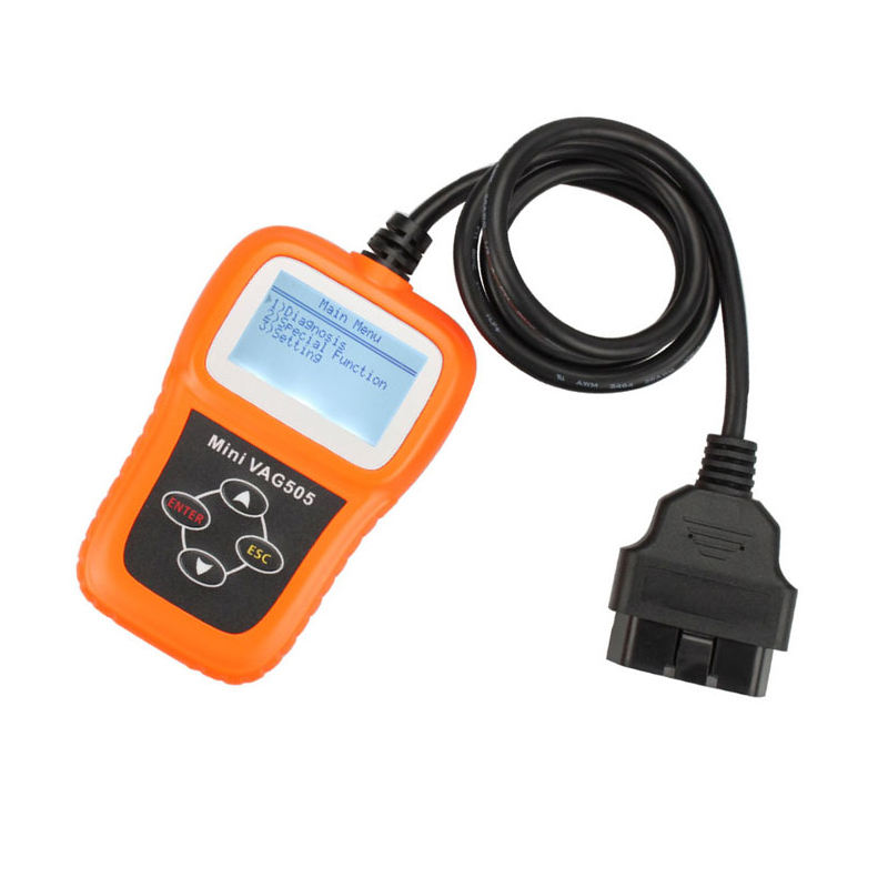 MINI VAG 505 Auto Diagnostics Tools Handheld Scanner Professional for VW/Audi OBD2 Code Reader Car Diagnostic Tools