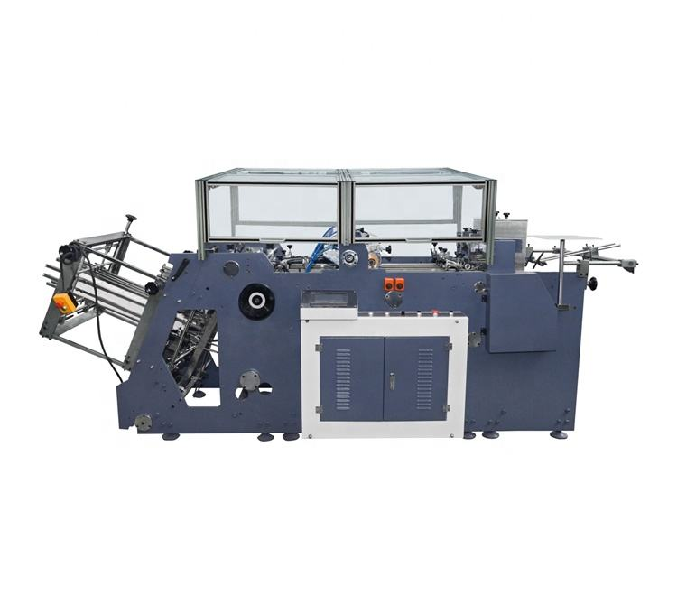 paper carton gluing and folding machine for food boxes (MB-800A)