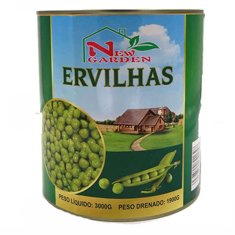 Factory Price Canned Peas from China New Crop Canned Green Peas from Factory