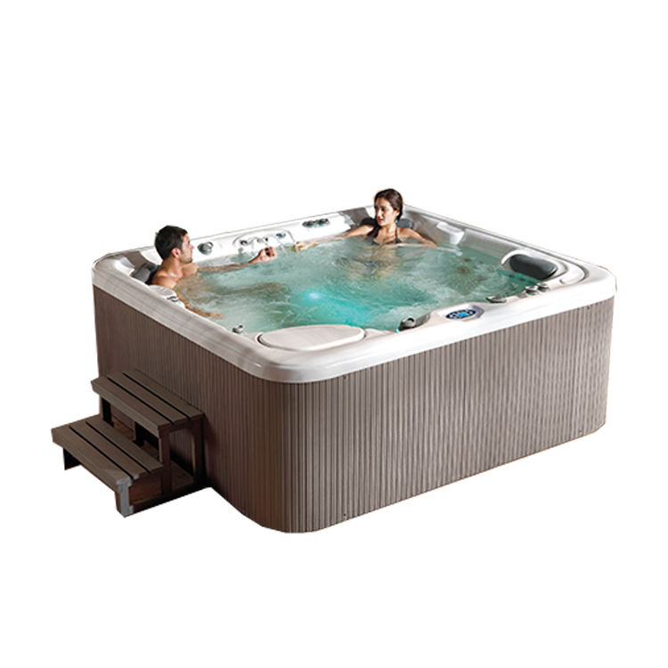 SM590 Large New design wholesale luxurious 6 person spa hot bath tub