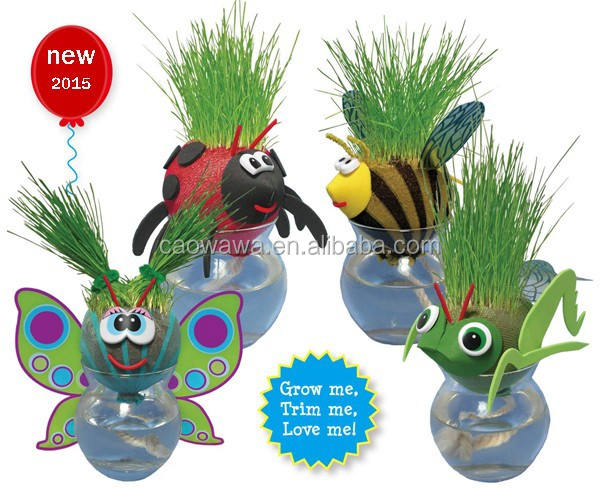 promotion gift MrS Grass Head school home office decoration