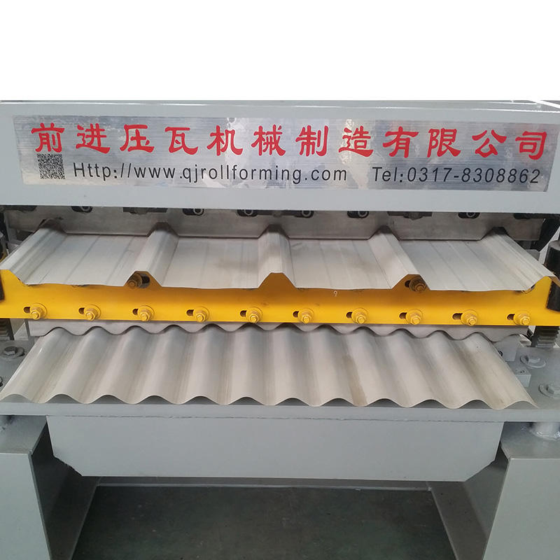 Double Layer roll formers wall panel tile making machine