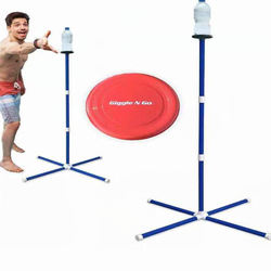 Fun Outdoor Sports Flying Disc bottle ball Game