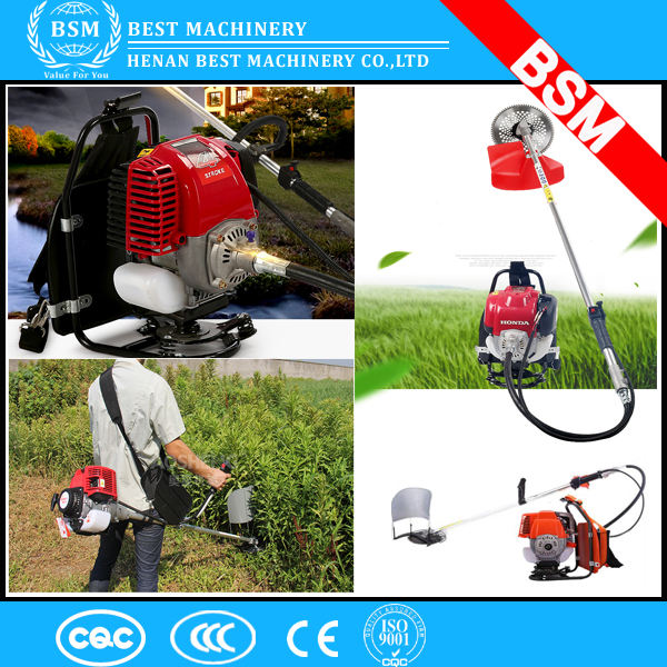 Backpack Grass Cutter for cutting alfalfa and sugarcane