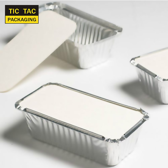 Takeaway oven safe fast food take out disposable aluminum foil container