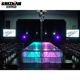 Acrylic Stage Large Event Retractable Acrylic Lights Round Stage
