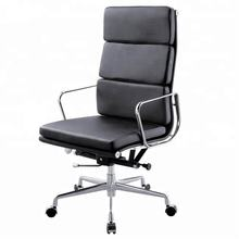 Modern Leather Office Manager Chair Specification High Back Executive Swivel Chair with Mechanism Luxury Office Furniture