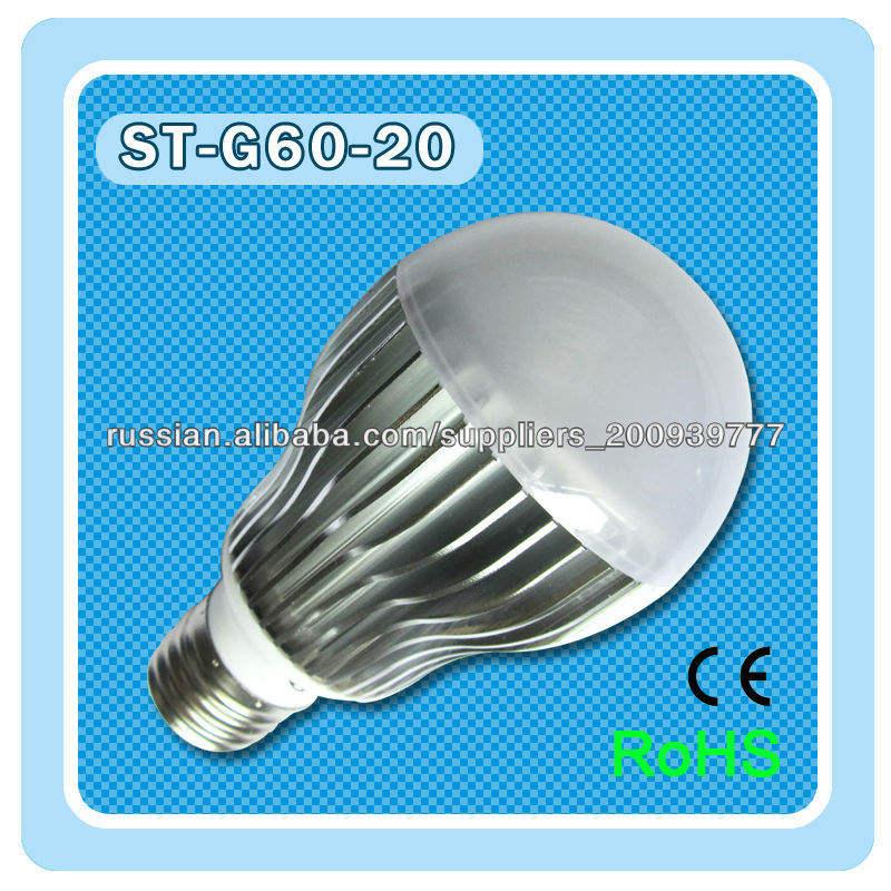 T82013 5W диммер / Non-диммер части энергосберегающий шарик