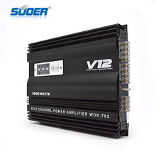 WDK-705 12V car amplifier 4 channel sound digital car amplifier car audio amplifier 3800W