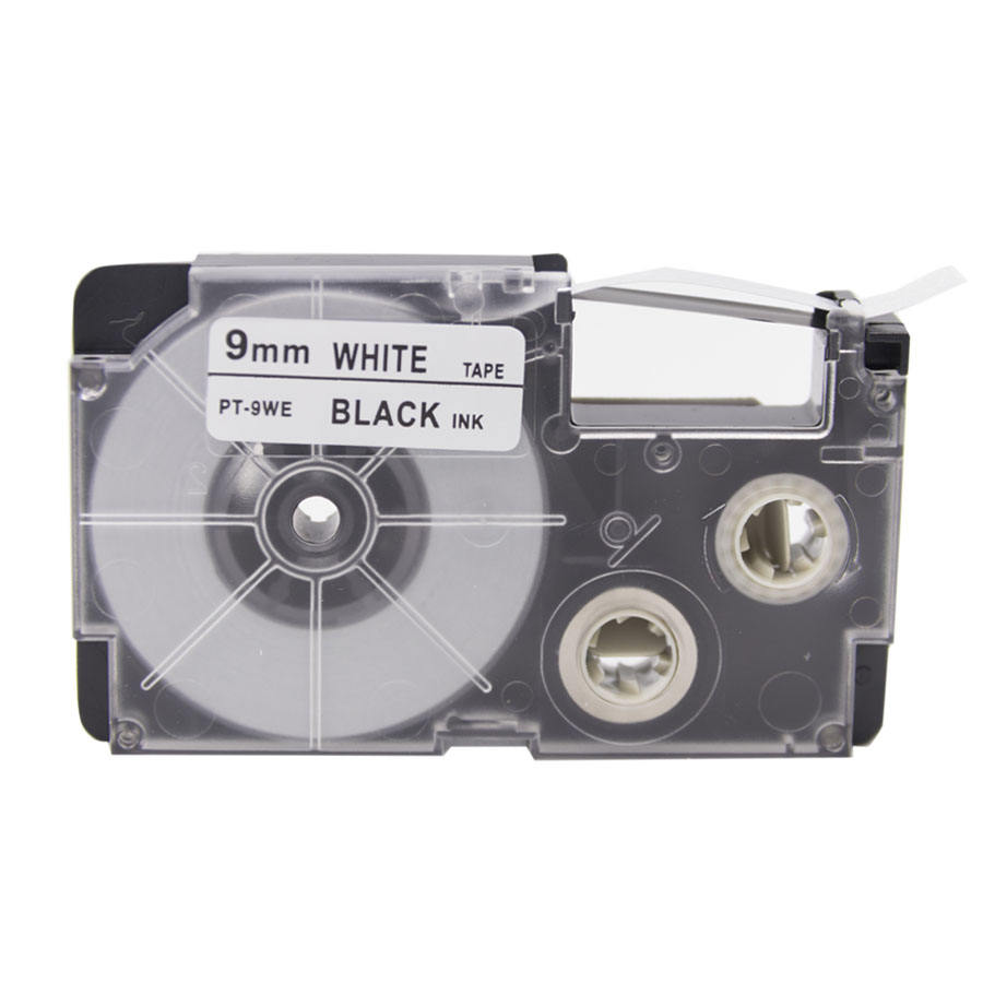 PUTY EZ label Cassettes xr-9we 9mm label tape black on white xr-9we1 for EZ label makers