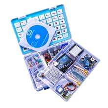 2017 RFID Uno Learning Kit Uno R3 Starter Kit With Tutorial / Power Supply EU / US Plug for Uno R3 Atmega328P