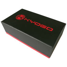 OEM design black paper cigar box with your logo and printing