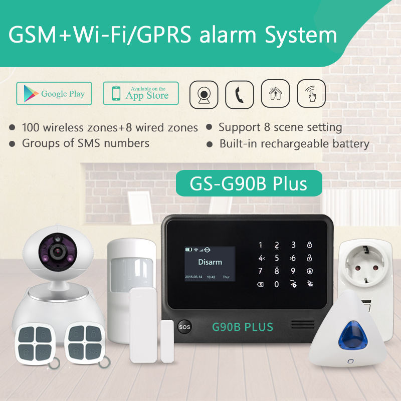 LoRa 868mhz GSM WIFI alarm system with CID+SIA CMS Center Monitoring Software