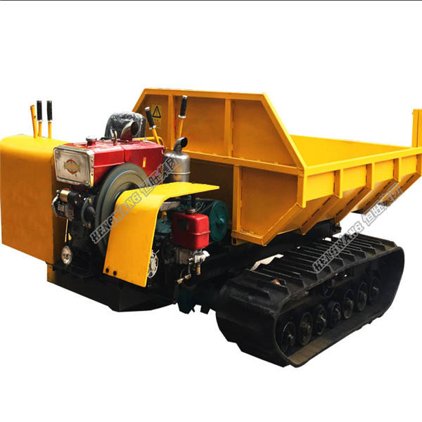 Track carrier steel mini dumper crawler truck price