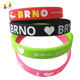 New gifts & crafts personalized cheap glow in the dark wristbands,custom rubber silicone bracelet