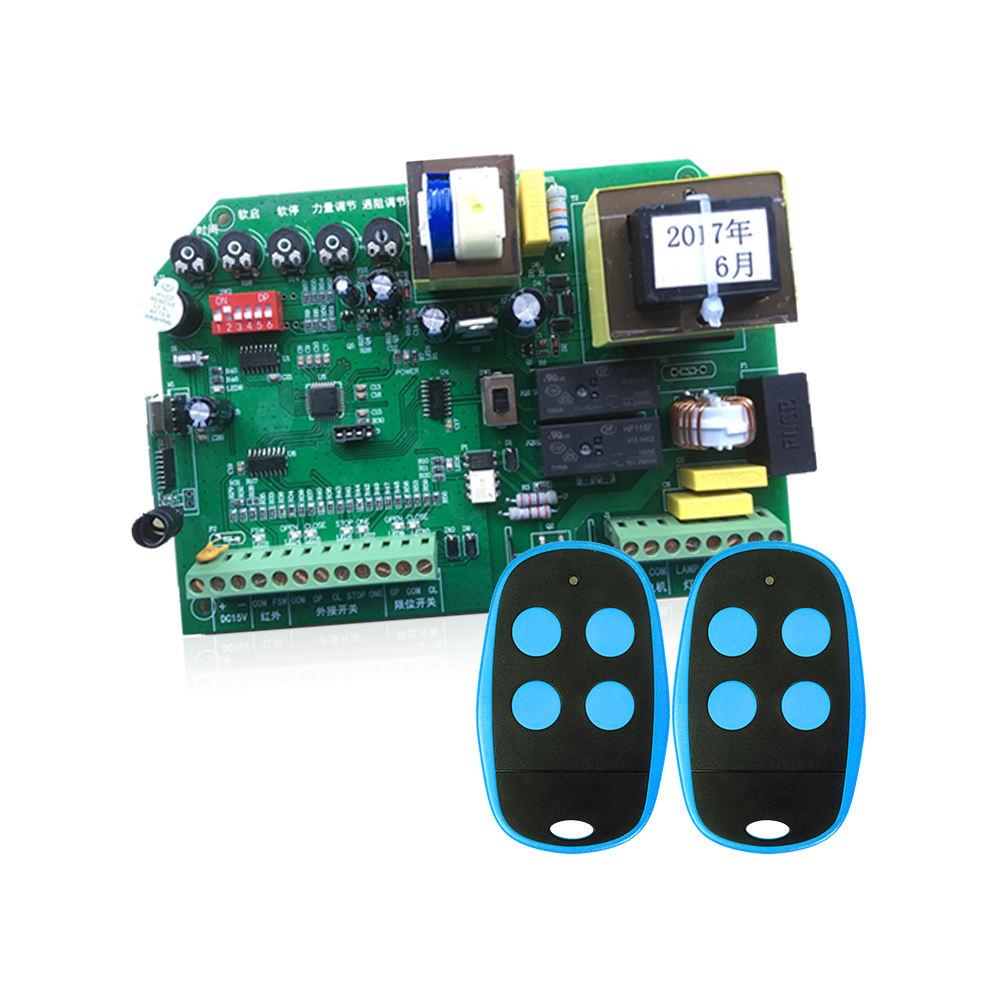 High Quality Rf Remote Controller And Receiver Control Board For Sliding Door