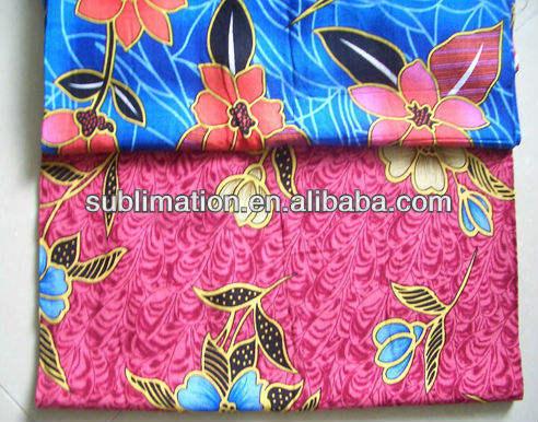 nouveau design de mode coloré maison produits textiles sublimation de polyester tissu imprimé